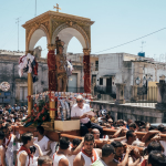 Celebrating San Sebastiano in Ferla, Siracusa